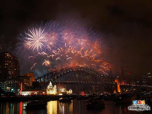New Year's Eve, Sydney, Australia